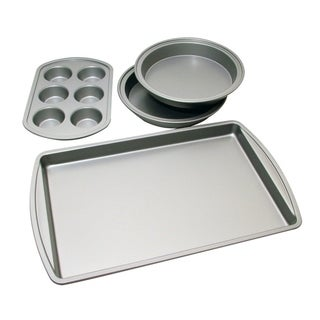Link to Le Chef Nonstick 4-piece Bakeware Starter Set Similar Items in Bakeware