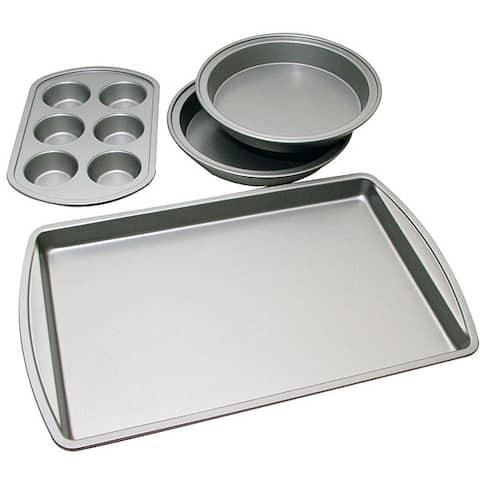Le Chef Nonstick 4-piece Bakeware Starter Set