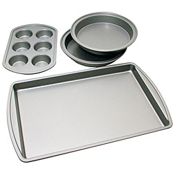 Le Chef Nonstick 4-piece Bakeware Starter Set