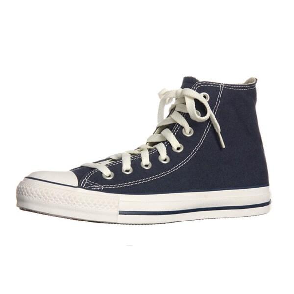 2cdb691fa87 Shop Converse Unisex Navy All Star Chuck Taylor Hi-Top Shoes - Free ...