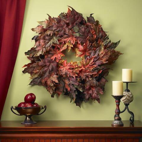Maple Leaf 30-inch Wreath