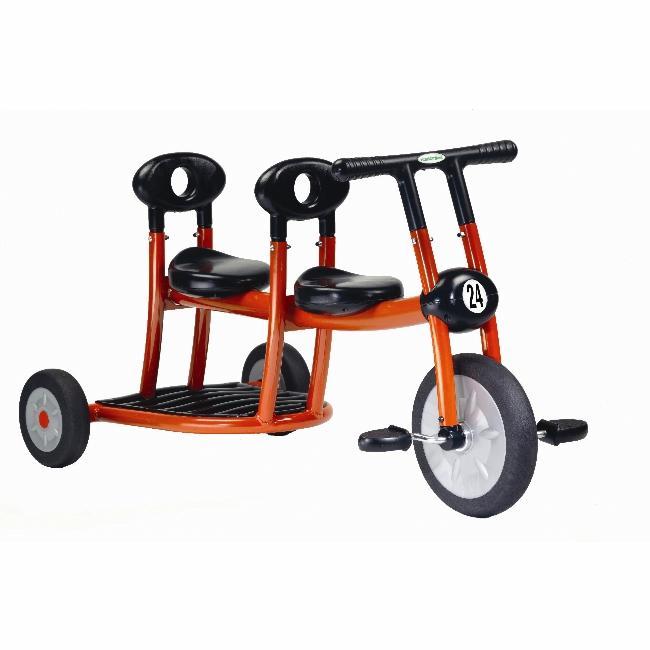 Italtrike Orange Pilot 200 Series 2 Passenger Tricycle