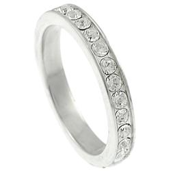 Journee Collection  Round CZ Bridal & Engagement Eternity Ring - Thumbnail 1