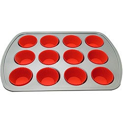 Le Chef 12-cup Muffin Bakeware Set