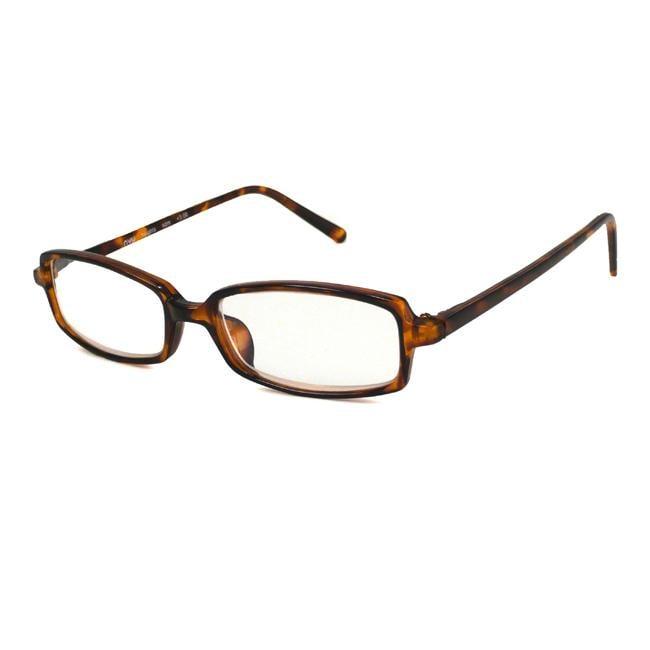 NVU Eyewear Men's Heights Shiny Demi Reading Glasses