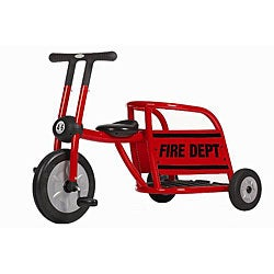 Italtrike Pilot Red Fire TruckTricycle - Thumbnail 0