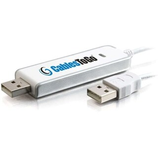 C2G 6ft USB 2.0 Driverless Transfer Cable