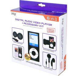 iHip Digital MP3 Player with Accessory Kit