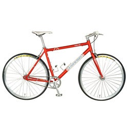 Tour De France Stage One Vintage Red Bike