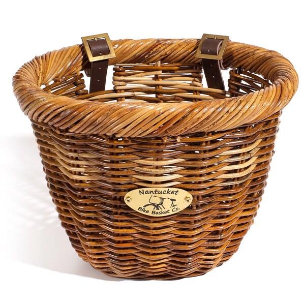 Nantucket Bicycle Basket Co. Oval Cisco Basket