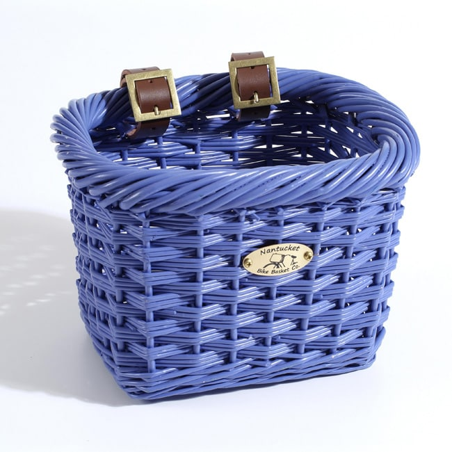 Nantucket Co. Child's Gull Collection Purple Bicycle Basket