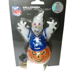 Detroit Lions Halloween Ghost Night Light
