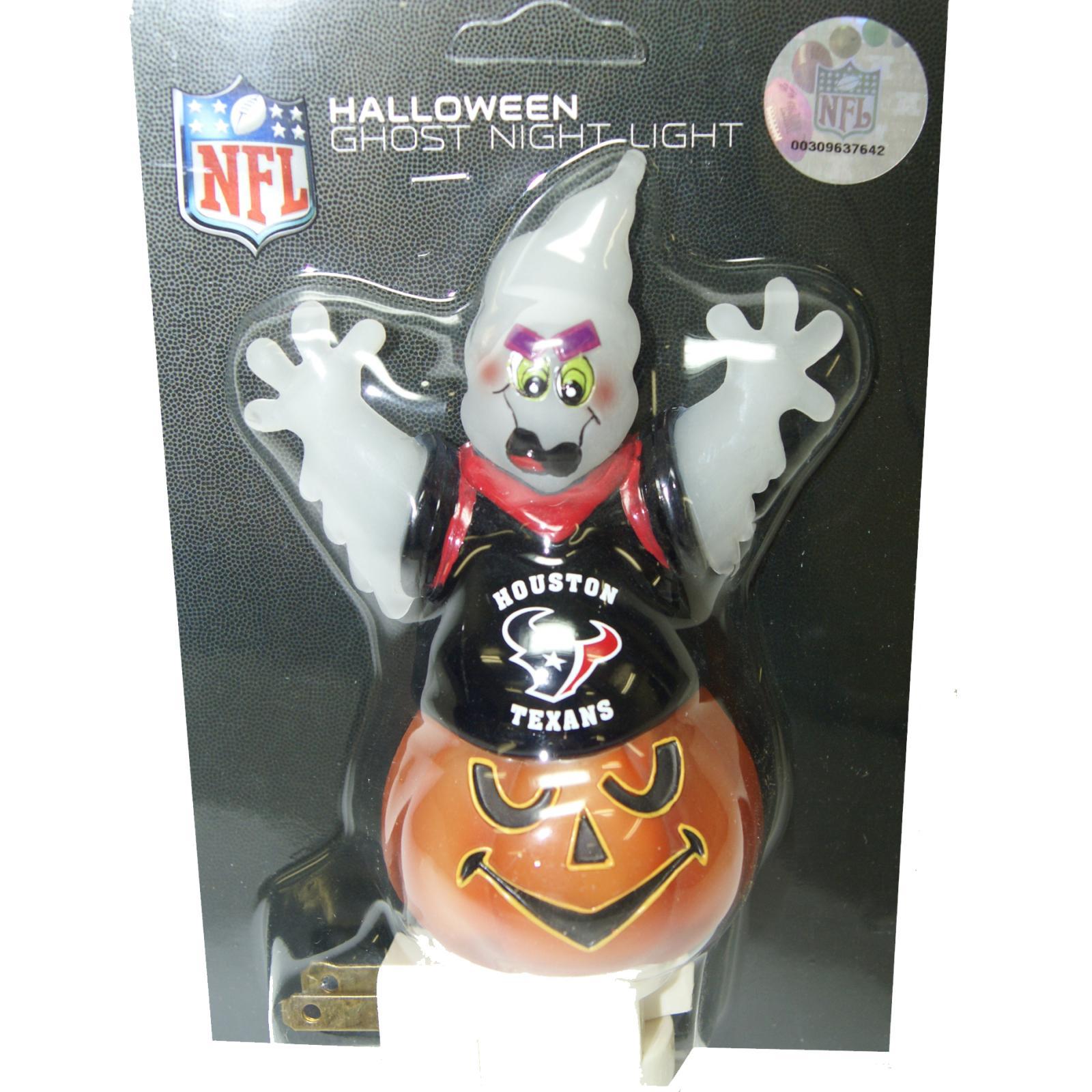 Houston Texans Halloween Ghost Night Light