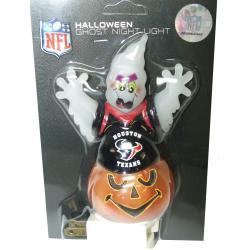 Houston Texans Halloween Ghost Night Light - Thumbnail 1