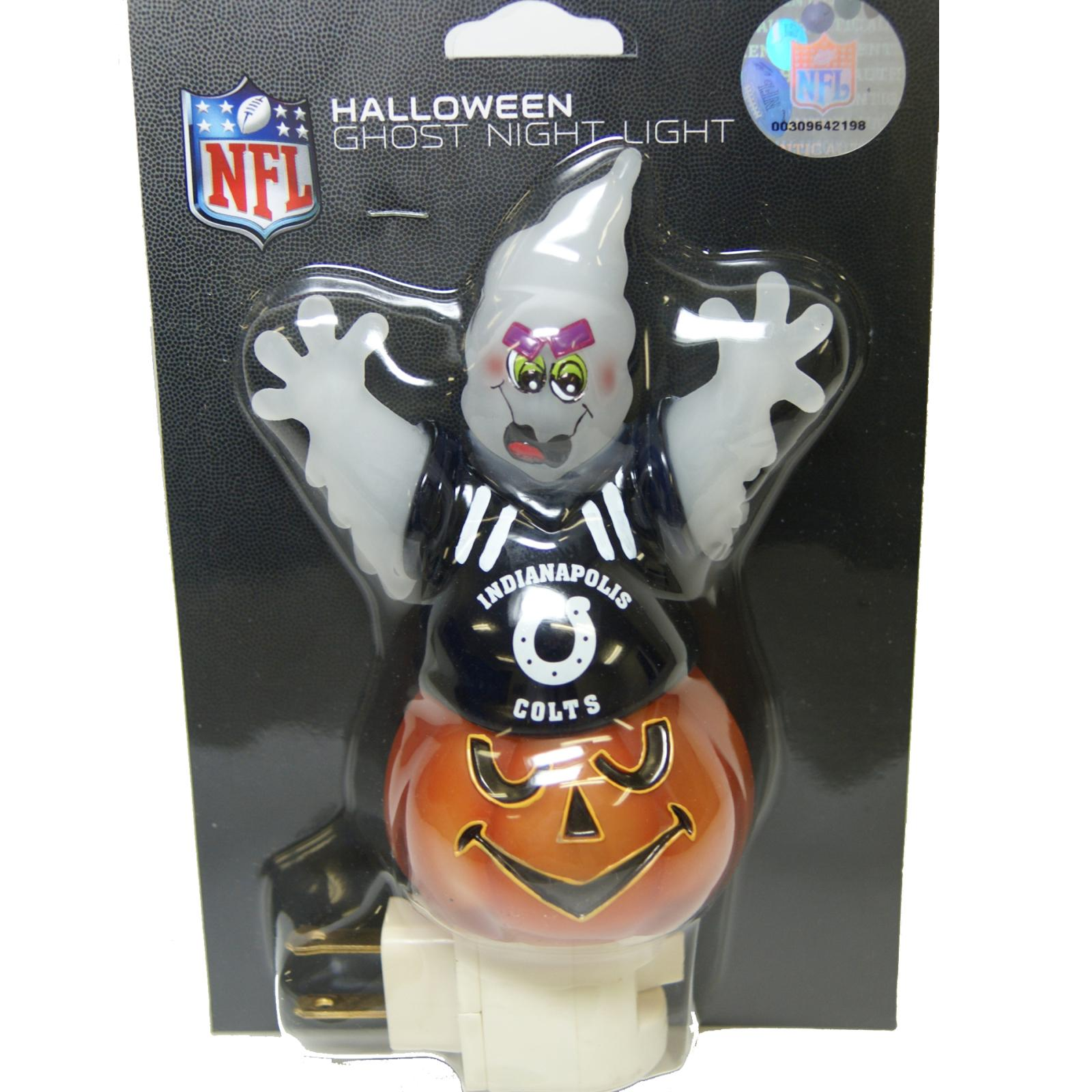 Indianapolis Colts Halloween Ghost Night Light - Thumbnail 0
