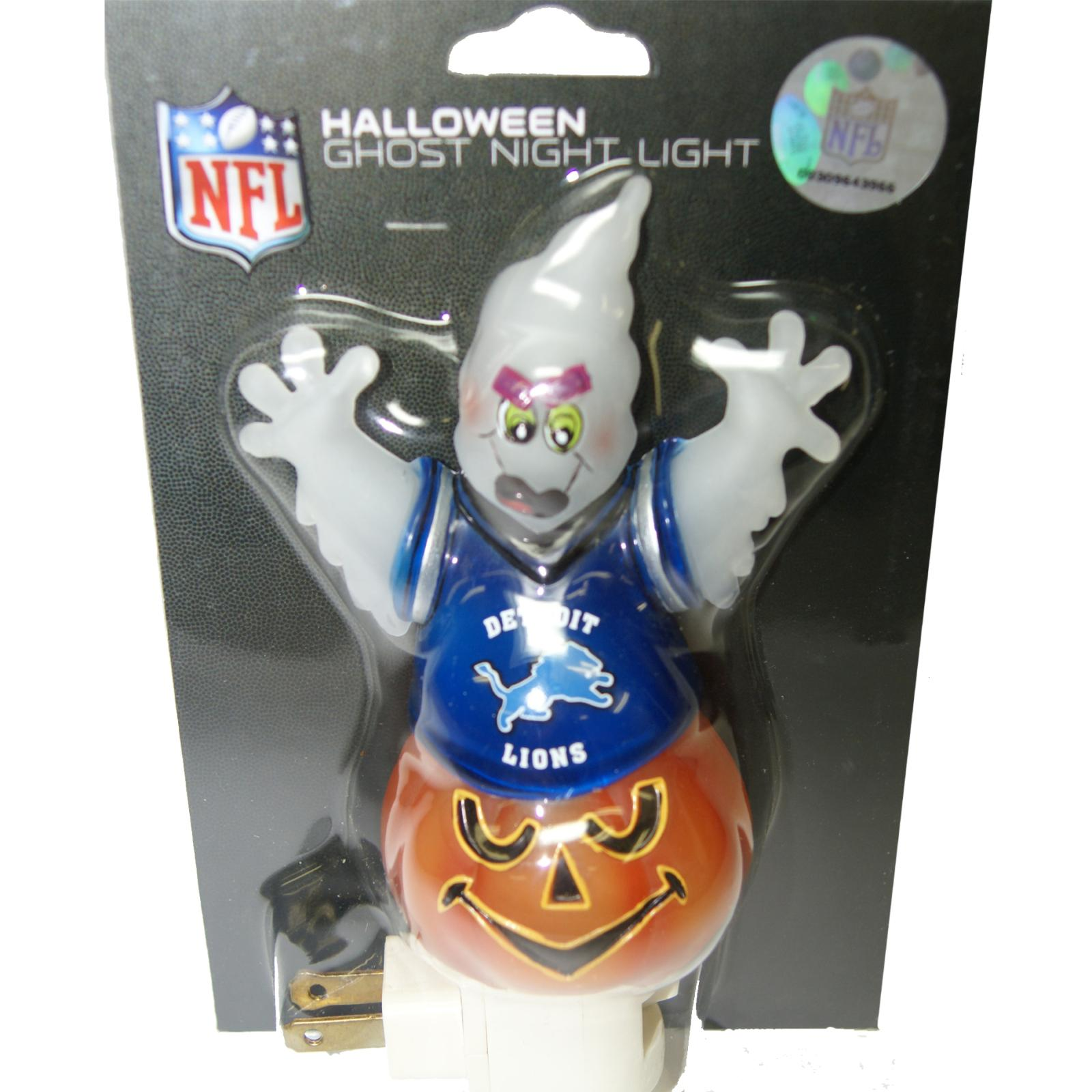 New England Patriots Halloween Ghost Night Light