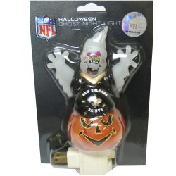 New Orleans Saints Halloween Ghost Night Light - Thumbnail 1