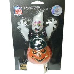 Philadelphia Eagles Halloween Ghost Night Light - Thumbnail 2