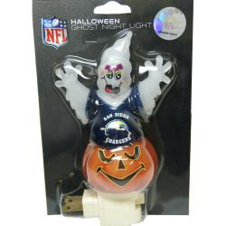 San Diego Chargers Halloween Ghost Night Light