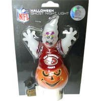 San Francisco 49ers Halloween Ghost Night Light
