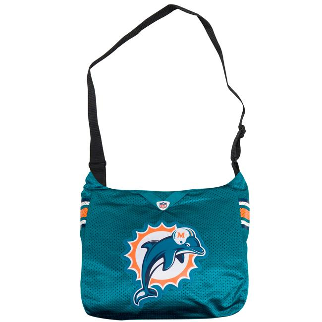Little Earth Miami Dolphins MVP Jersey Tote Bag