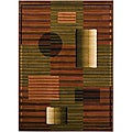 Artist's Loom Indoor Contemporary Geometric Rug (7'10 x 10'6) - 7'10 x 10'6