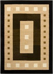 Artist's Loom Indoor Contemporary Geometric Rug (7'10 x 10'6) - Thumbnail 2