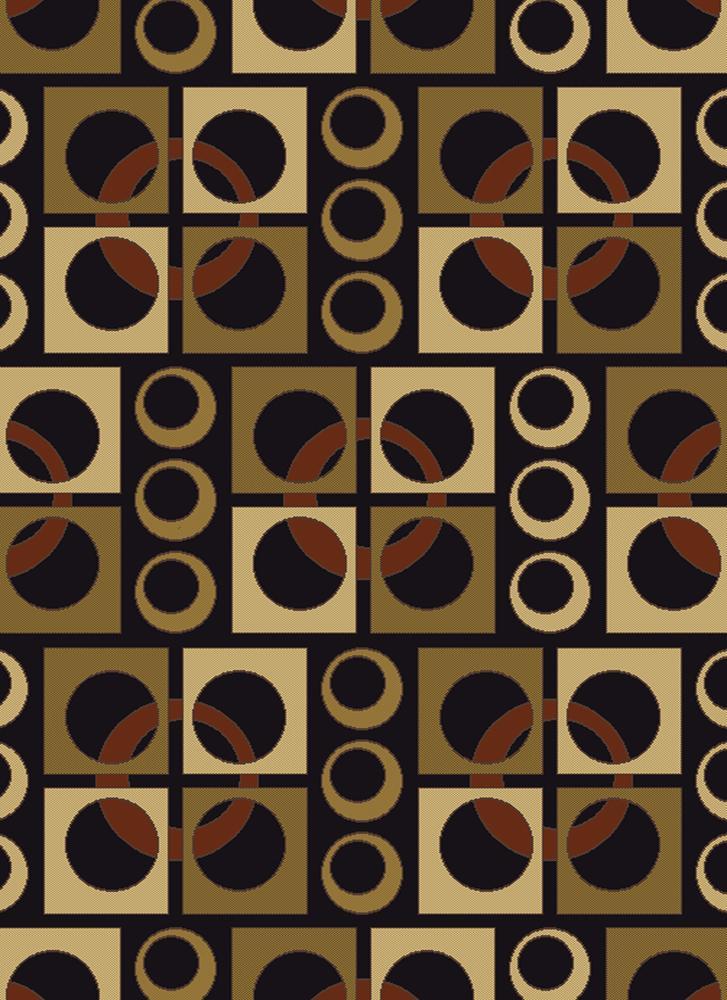 Artist's Loom Indoor Contemporary Geometric Rug - 7'10 x 10'6