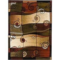 Artist's Loom Indoor Contemporary Abstract Rug - 7'10 x 10'6