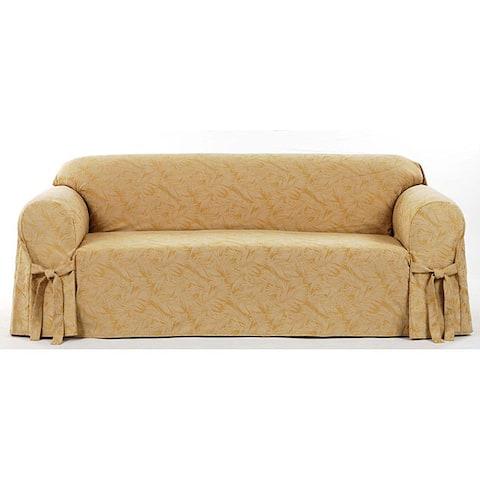 Classic Slipcovers Bell Jacquard Sofa Slipcover