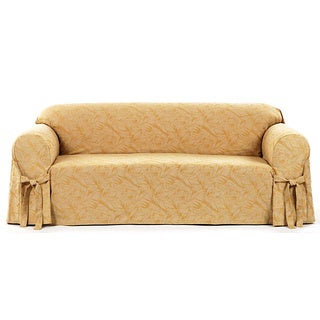 Classic Slipcovers Bell Jacquard Loveseat Slipcover (2 options available)