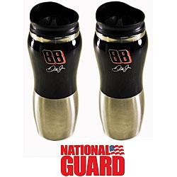Nascar 88 National Guard 16-oz Fusion Tumblers (Pack of 2)