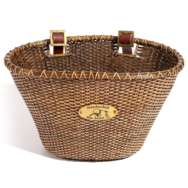 Nantucket Bicycle Basket Co. Lightship Collection Basket
