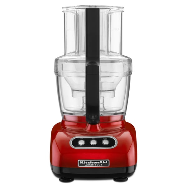 Kitchenaid Kfpm773ca Candy Apple Red 12 Cup Wide Mouth
