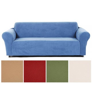 Link to Classic Slipcovers Snowball Stretch Sofa Slipcover Similar Items in Slipcovers & Furniture Covers