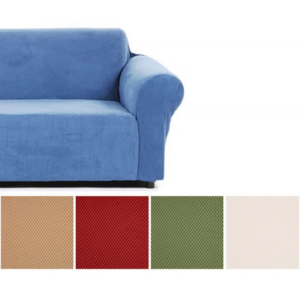 Snowball Stretch Chair Slipcover