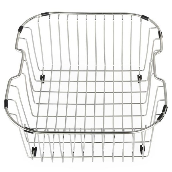 Kraus Kitchen Accessory Chrome-Plated Steel Sink Rinse Basket