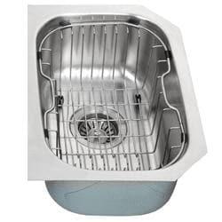 Kraus Kitchen Accessory Stainless Steel Sink Rinse Basket