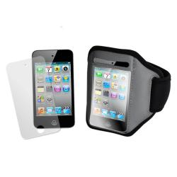 Universal Apple iPod Touch 4/ iPhone 4 Sports Armband - Thumbnail 1