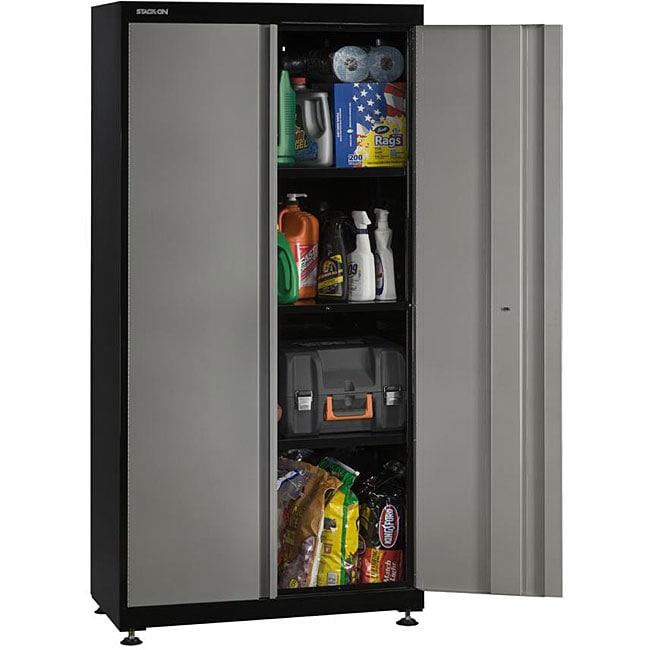 Stack-On 2-door Floor Storage Cabinet