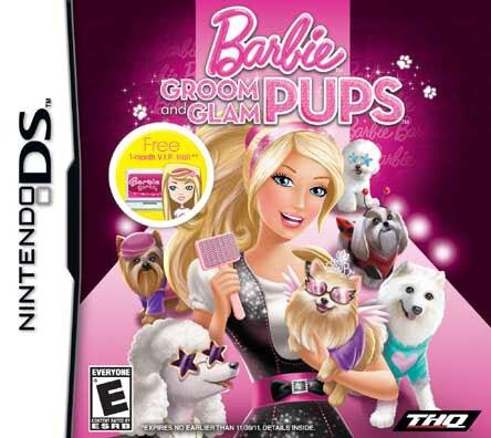 NinDS - Barbie - Groom and Glam Pups