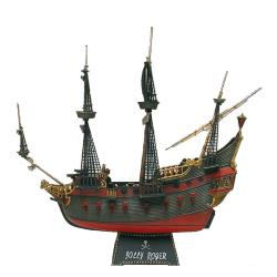 Revell 1:96 Scale Die Cast Caribbean Pirate Ship - Thumbnail 0
