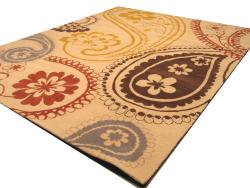 Hand-tufted 'Peter' Ivory Oriental Wool Rug (7'9 x 9'9) - Thumbnail 1