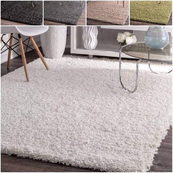 nuLOOM Alexa My Soft and Plush Multi Shag Rug (5'3 x 7'6)