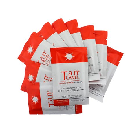 Tan Towel Self-Tan Towelette Half Body Classic (10 pieces)