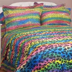 Street Revival Rainbow Leopard Full-size 7-Piece Bed in a Bag with Sheet Set|https://ak1.ostkcdn.com/images/products/5318320/Street-Revival-Rainbow-Leopard-Full-size-7-Piece-Bed-in-a-Bag-with-Sheet-Set-P13125595d.jpg?impolicy=medium