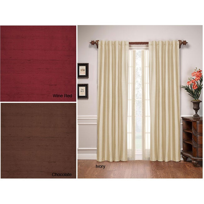 Stanford Silk 84-inch Window Panel