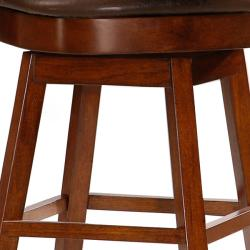 Shop Landon 24 Inch Wheat Back Cherry Wood Counter Height