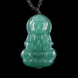 Jade Buddha Necklace (China)