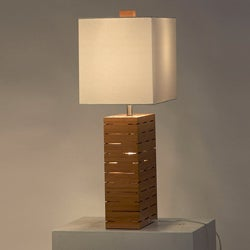 'Rift' Reclining 1-light Table Lamp - Thumbnail 1
